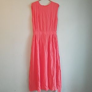 Margo Hot Light Pink Maxi Dress